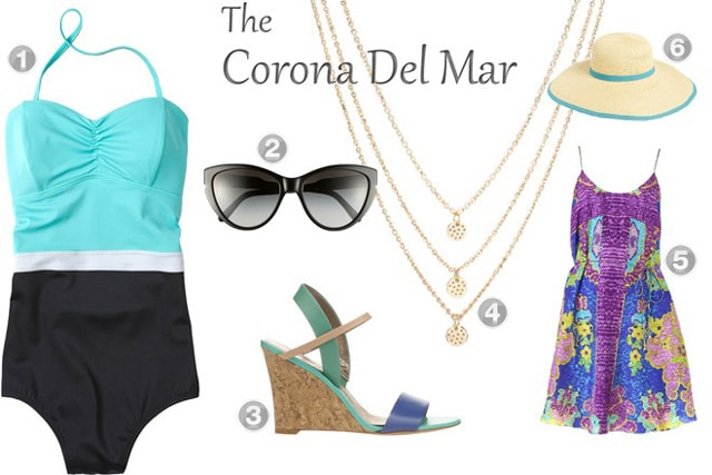 Retro Beach Look: The Corona Del Mar