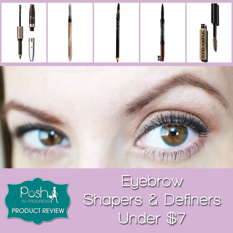 eyebrow shapers and definers under $7