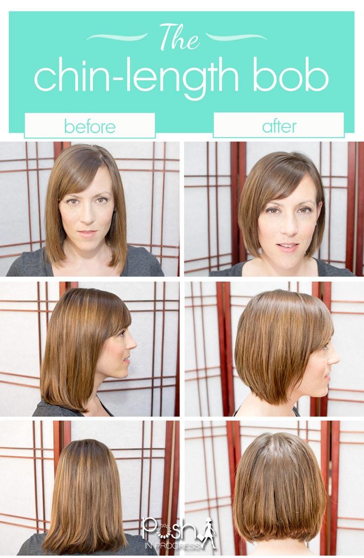 short hair trend: the chin-length bob   posh in progress